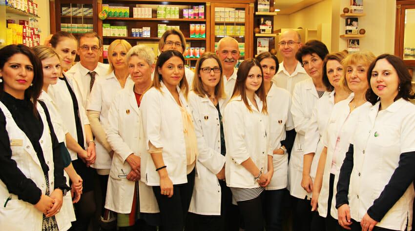 Team der Lindwurm Apotheke