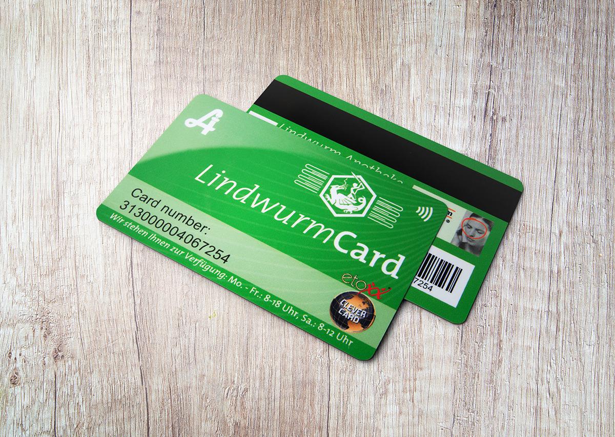 LindwurmCard Kundenkarte Lindwurm Apotheke